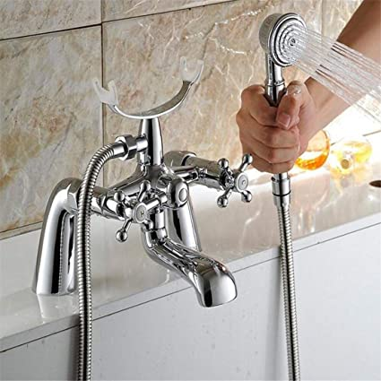Soffione Doccia In Inglese.Moontang Bagno Inglese Triple Doccia Vacuum Chrome Faucet