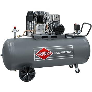 BRSF33 ® ölgeschmierter Compresor De Aire Comprimido HK 600 - 270 (3 KW, 10 bar, 270L Caldera, 400 V) Gran pistón de Compresor: Amazon.es: Bricolaje y ...