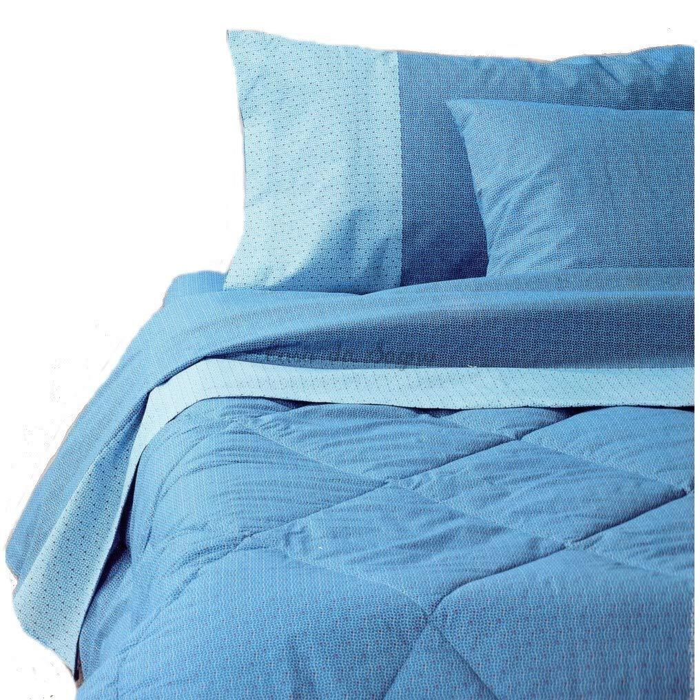 lenzSBassetti171a Bassetti Lenzuola Singole Bloth Azzurro Lenzuola Singole