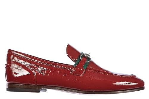 Gucci Mocasines en Piel Mujer Naplack Rose Bed Rojo EU 40 323633 AB8H0 6280: Amazon.es: Zapatos y complementos