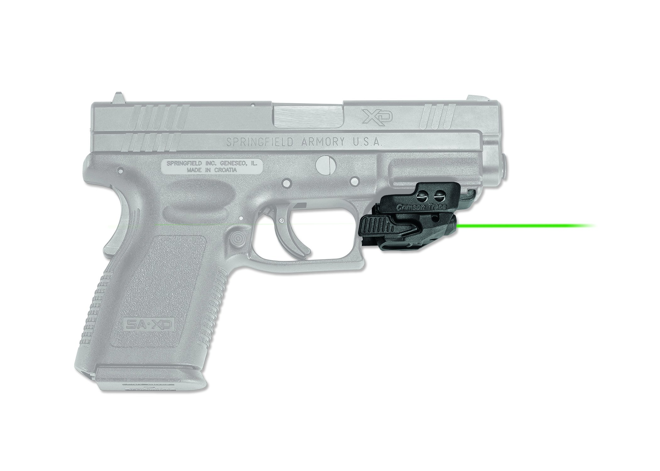 Crimson Trace CMR-206 Rail Master Universal Green Laser Sight