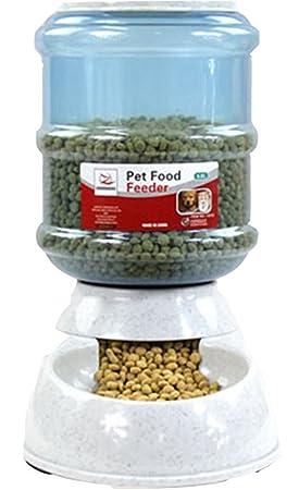luckygirls mascota cachorro automática Pet potable fuente cuenco perro gato Waterer dispensador con 0,92