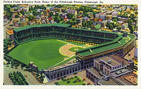 Amazon.com: Pittsburgh, Pennsylvania - Forbes Field, Schenley Park ...