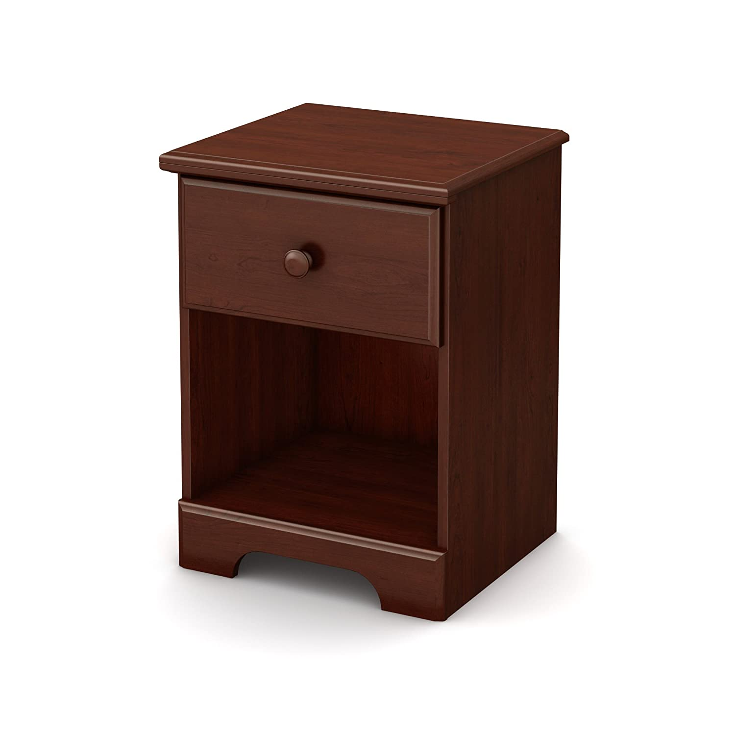 cherry nightstands bedroom