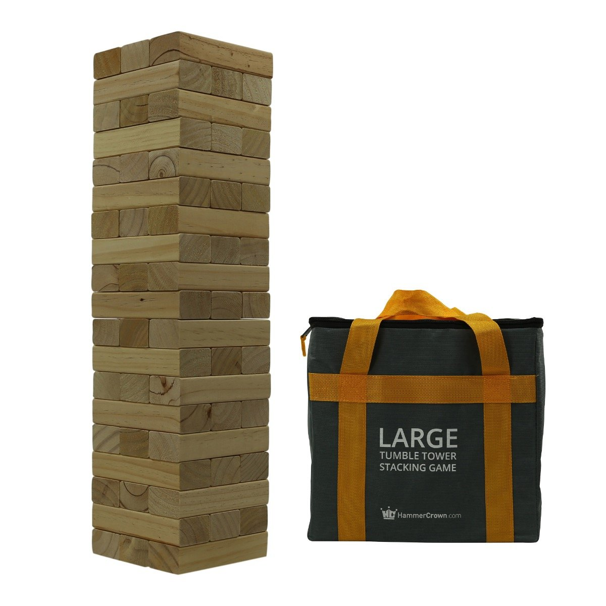 Hammer Crown Large Tumble Tower; Natural Finish