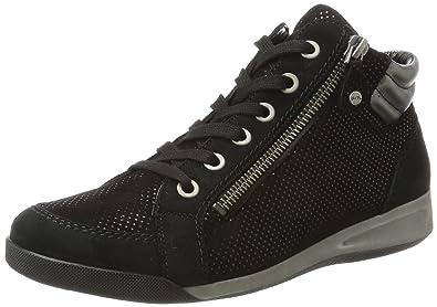 Rom - Zapatillas Mujer, Color Negro, Talla 36.5 EU Ara