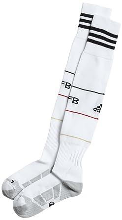 Adidas - Calcetines de fútbol sala para hombre, tamaño 46-48, color blanco: Amazon.es: Ropa y accesorios