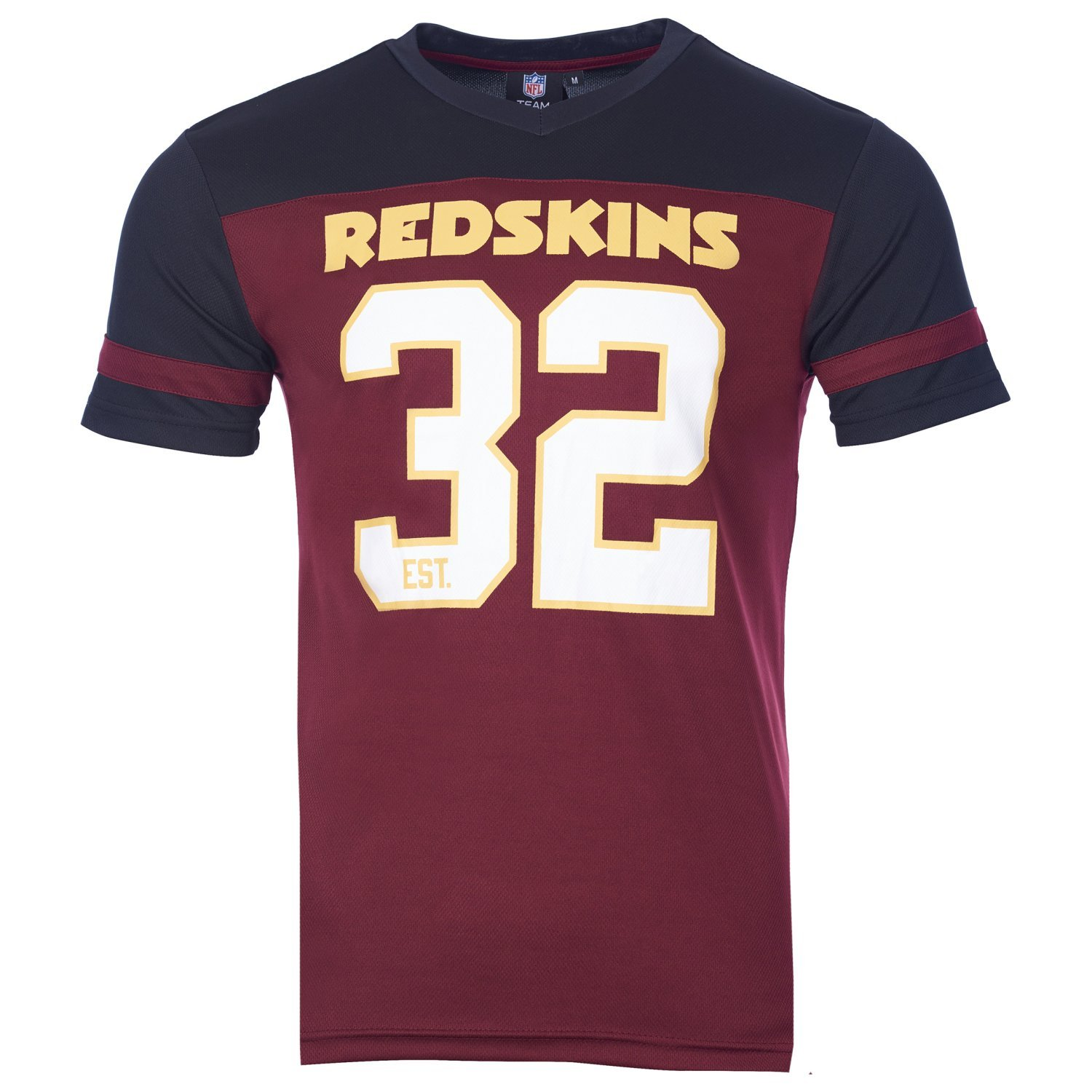 Majestic NFL Poly-Mesh Jersey Shirt - Washington Redskins Majestic Athletics