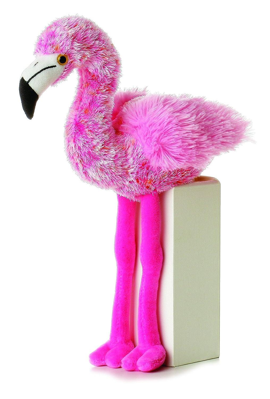 Flavia Flamingo 8-Inch Mini Flopsie Stuffed Animal Aurora AW31192