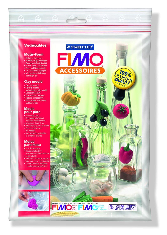 Staedtler 8742 43 Stampini per Fimo, Forma Vegetables