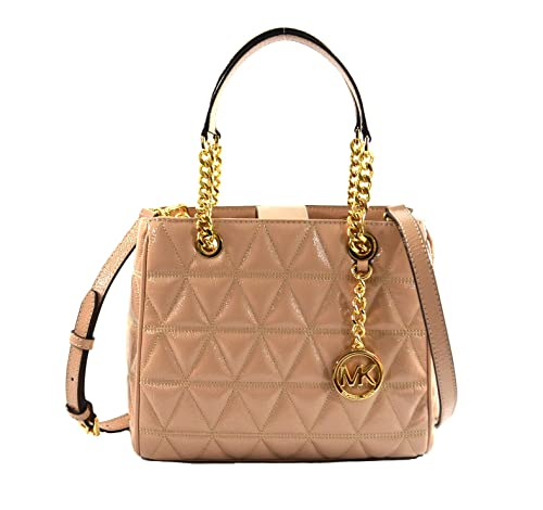 ad7e04bf06a3 MICHAEL Michael Kors Women's Susannah Medium Tote Leather Handbag (Oyster)