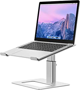 Besign LSX3 Aluminum Laptop Stand, Ergonomic Adjustable Notebook Stand, Riser Holder Computer Stand Compatible with Air, Pro, Dell, HP, Lenovo More 10-15.6