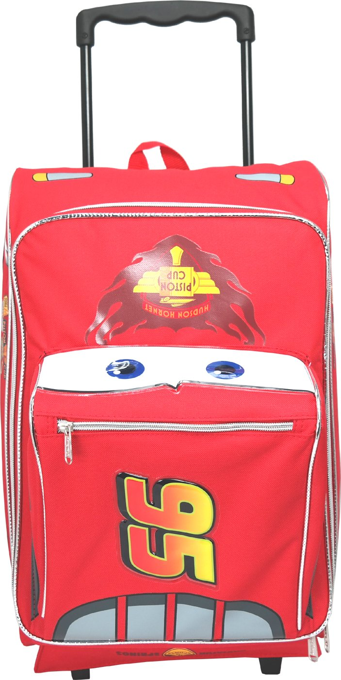 Large Rolling Backpack - Disney - Cars - Lightning McQueen Bag New 603694 Ruz A00369 30319055