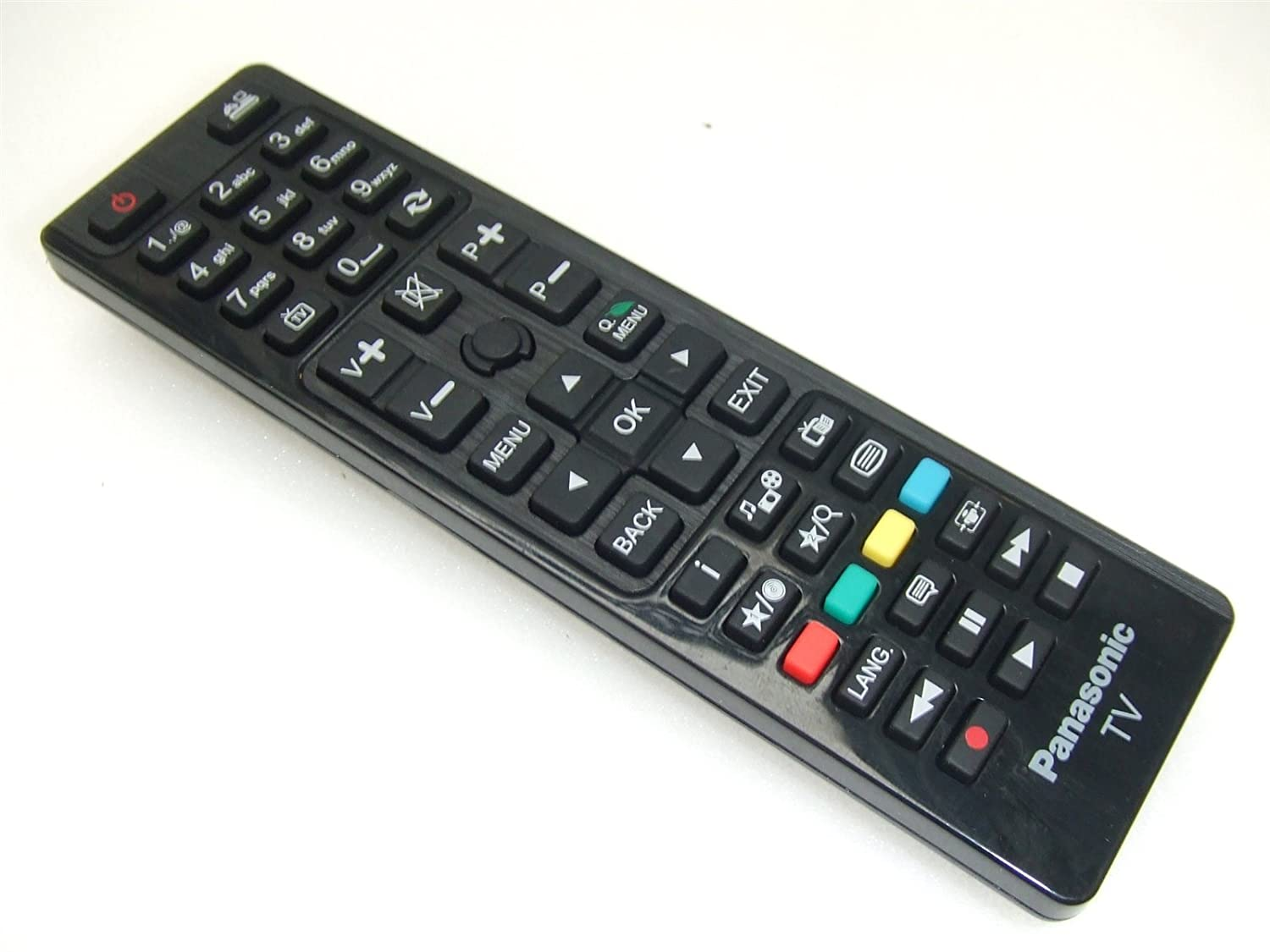 panasonic tv remote control. genuine tv remote control panasonic rc48127 for: amazon.co.uk: electronics tv g