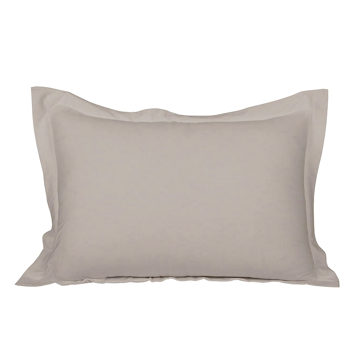 Beige 20 x 30 Half Price Drapes CJR-BGEPC-ST 100/% Cotton Knitted Jersey Pillow Cases