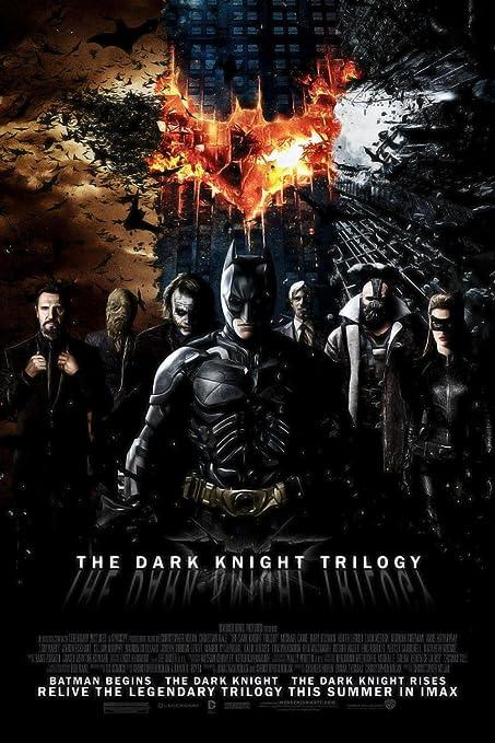 The Dark Knight Collection (2005-2012) 720p IMAX BluRay x264 ESubs Dual Audio [Hindi + English] 3.3GB