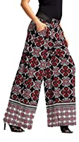 Premium Women's Palazzo Pants with Pockets - High-waisted - Solid and Printed Designs by Conceited