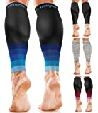 Calf Sleeves for Men & Women (20-30 mmHg) - Calf Support - Compression Calf Guards - Leg Sleeves for Torn Muscle - Shin…