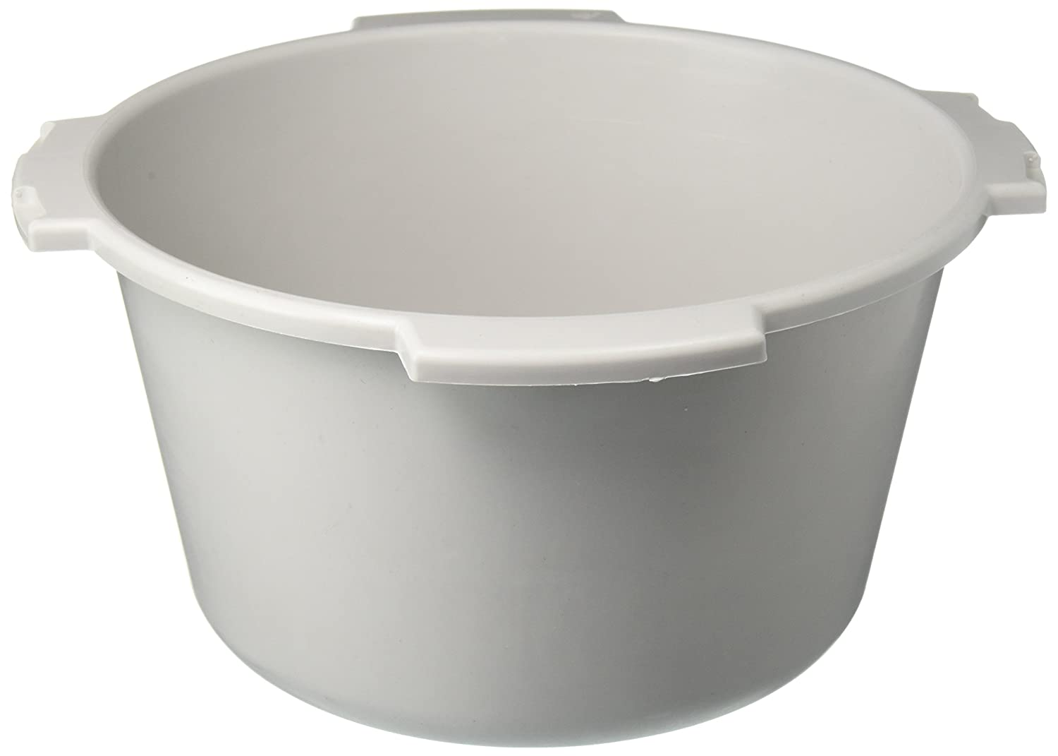 Grahamfield Lumex Everyday 7 Quart Capacity Commode Pail Without cover, Each Graham Field PP600009 GRF-PP600009