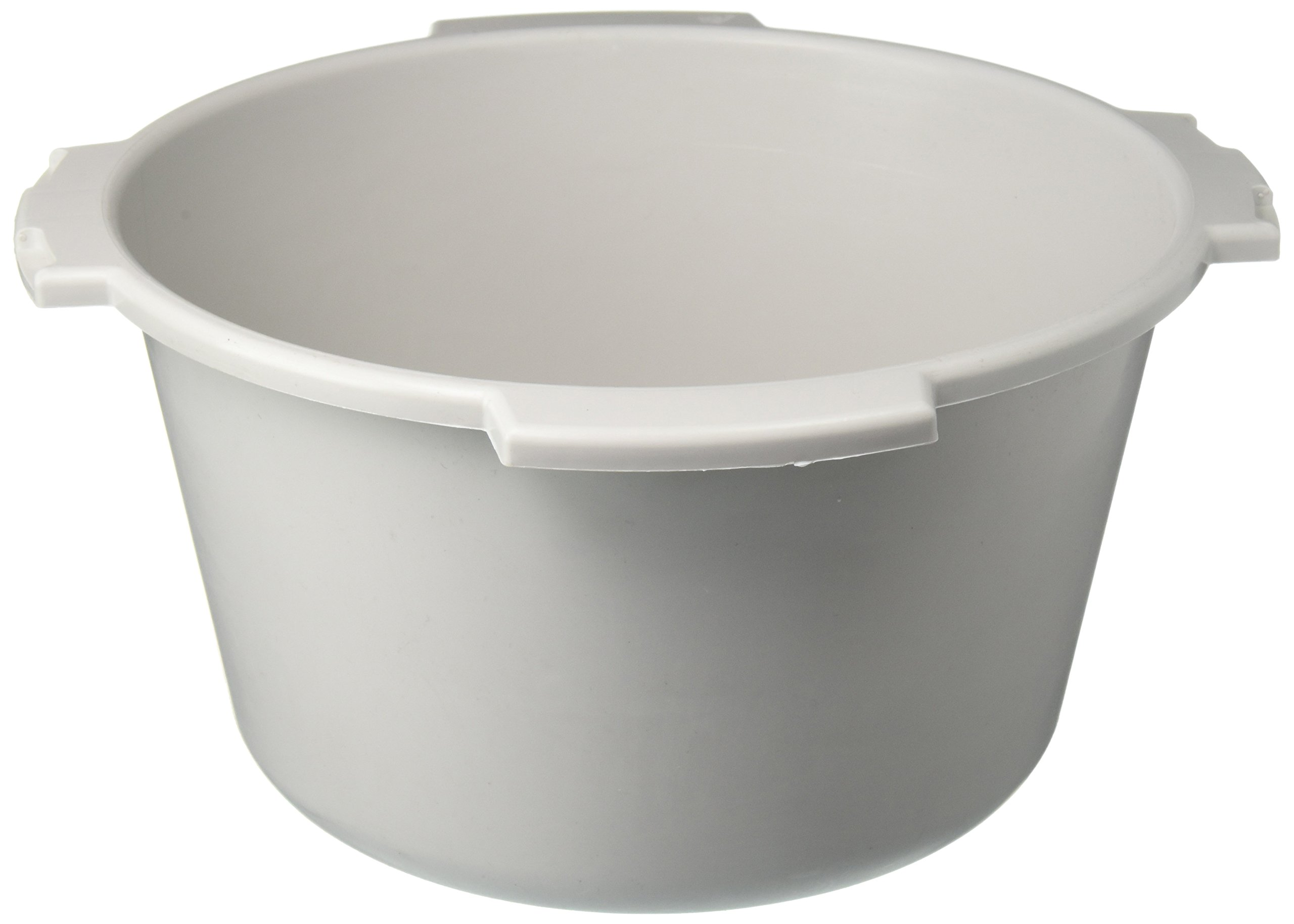 Lumex PP600009 Everyday Commode Pail without Cover, 7 quart