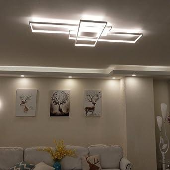 Rechteck Aluminium moderne LED Deckenleuchte für Wohnzimmer ...