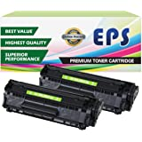 2 Pack - EPS Compatible Replacement Toner Cartridges for Canon 104