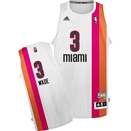 official photos 109c5 78d90 Amazon.com : Miami Heat Floridians Adidas Dwyane Wade ...