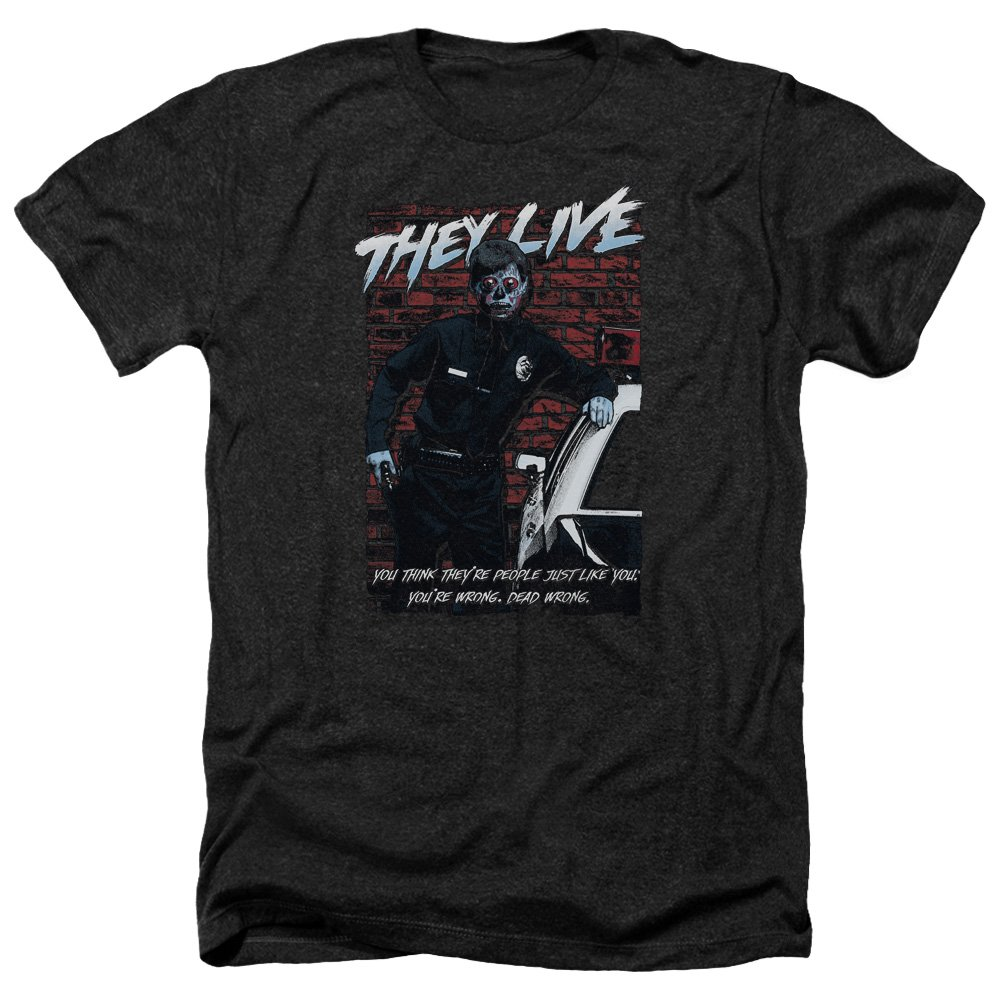 Trevco Mens They Live Poster T-Shirt