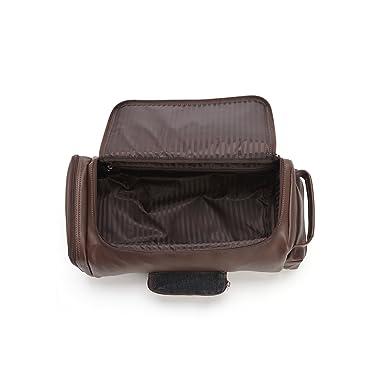 Amazon.com: Royce piel Zapato de golf y bolsa de accesorios ...