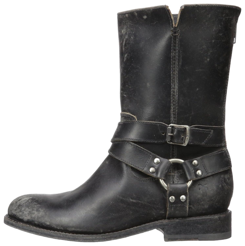 Amazon.com | Frye Women\'s Jayden Harness Zip Boot, Black, 7.5 M US ...