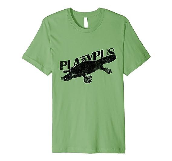 1b666303b254 Amazon.com: DUCK BILLED PLATYPUS - funny comedy weird animal T-shirt ...