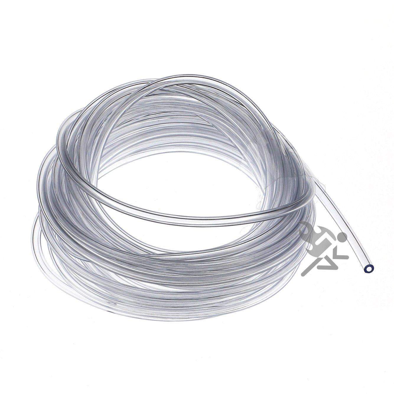 """Flexible Vinyl Tubing for Fish Hook Protectors 1//32/"""" I.D"""