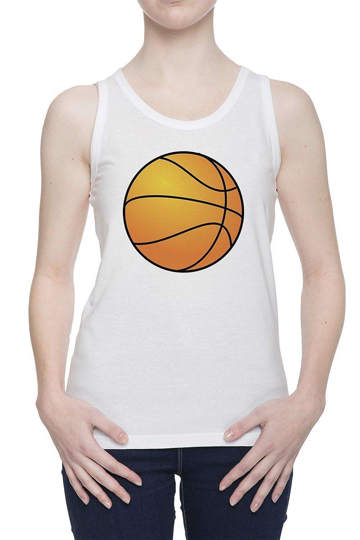 Pelota De Baloncesto De Tirantes Camiseta Para Mujer Blanca Todos ...