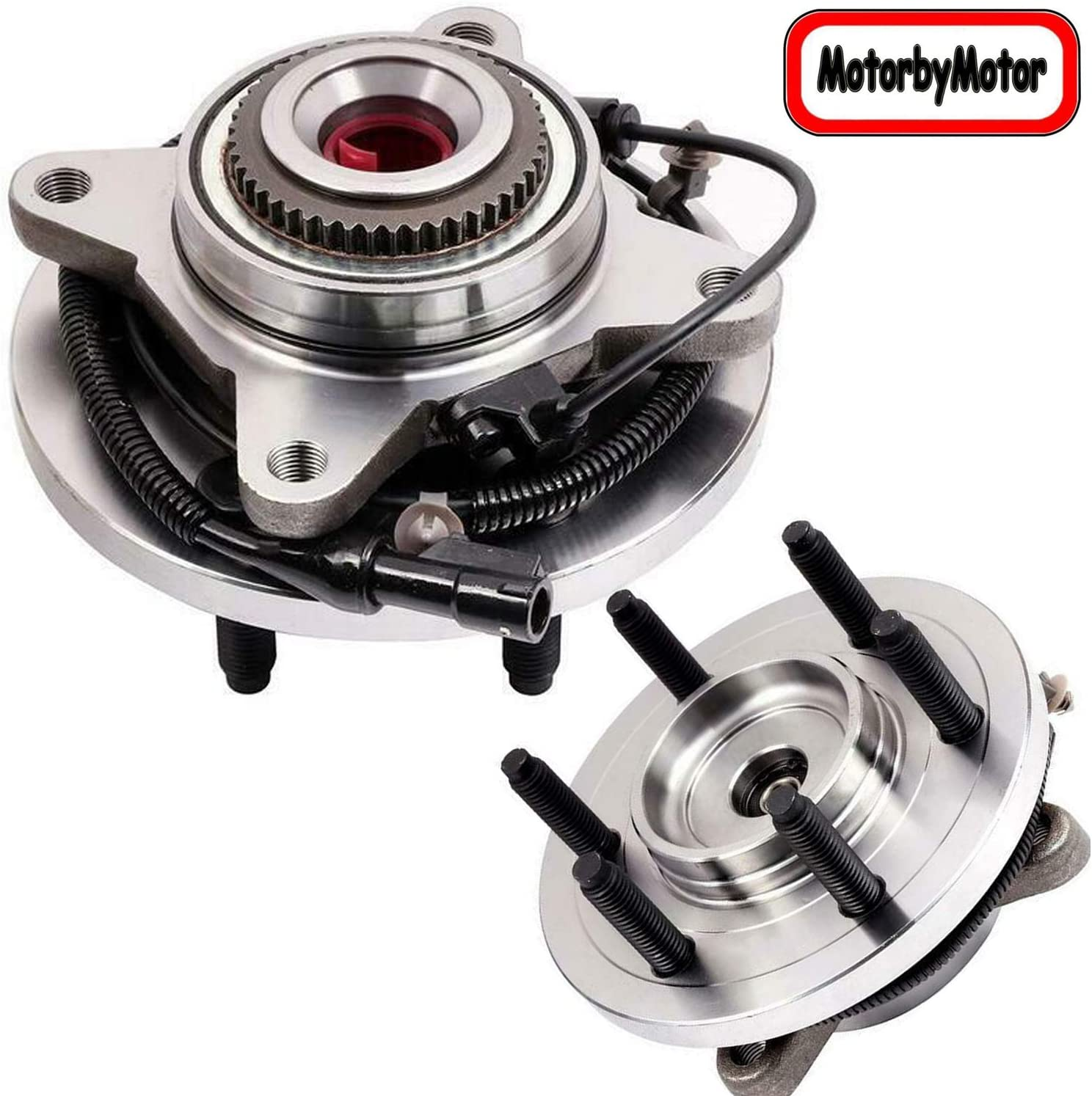 515119 Pair 2 Front Wheel Hub /& Bearing Assembly for 2009-2010 FORD F-150 4WD; Excluding Heavy Duty Payload Models Bodeman