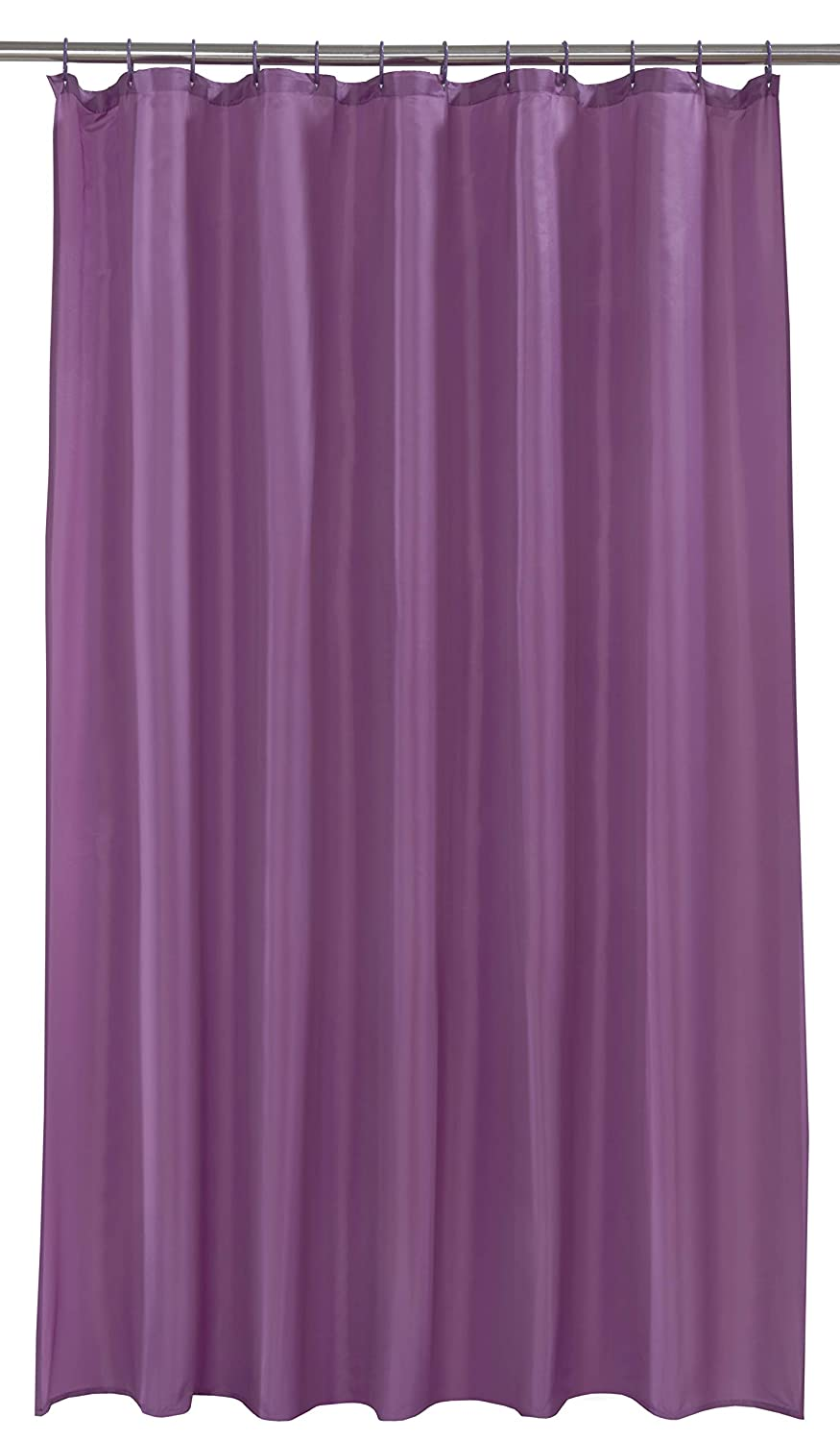 Spectrum 180 x 180 cm Shower Curtain and Rings Set, Berry Home Creations 88639