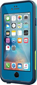 "Lifeproof FRE SERIES iPhone 6 Plus/6s Plus Waterproof Case (5.5"" Version) - (NOT compatible with iPhone 6/6s) - Retail Packaging - BANZAI (COWABUNGA/WAVE CRASH/LONGBOARD)"