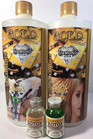 Cirugía Capilar Diamond Gold 1 liter (Shampoo-Treatment)