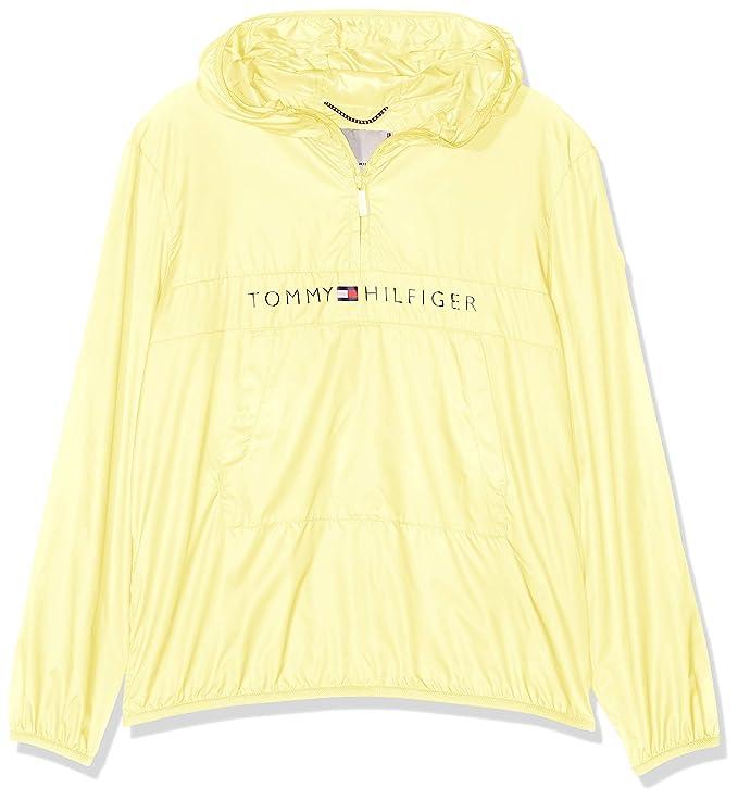 Tommy Hilfiger Unisex Pop-Over Jacket, Chaqueta para Niños ...