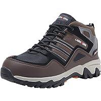 LARNMERN Chaussures de Travail pour Homme,LM-1702 Antidérapante Embout Acier Semelle Anti-Perforation Acier Chaussures de Sécurité