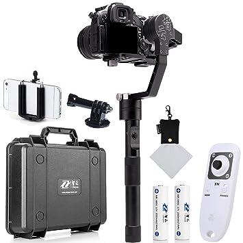 Zhiyun Crane - Gimbal de 3 ejes para cámaras réflex digitales y ...