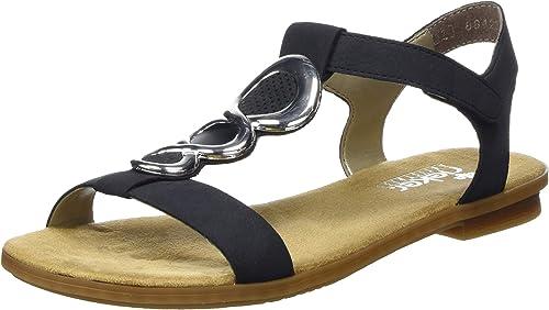 Rieker Damen 64265 14 Geschlossene Sandalen: XEmJn