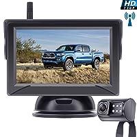 Leekooluu Digital Wireless Backup Camera for Cars/Trucks/SUVs/Pickups,4.3