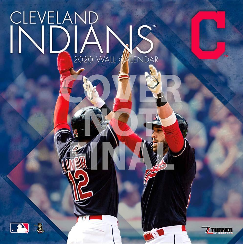 Cleveland Indians Home Opener 2020.Cleveland Indians 2020 12x12 Team Wall Calendar Lang