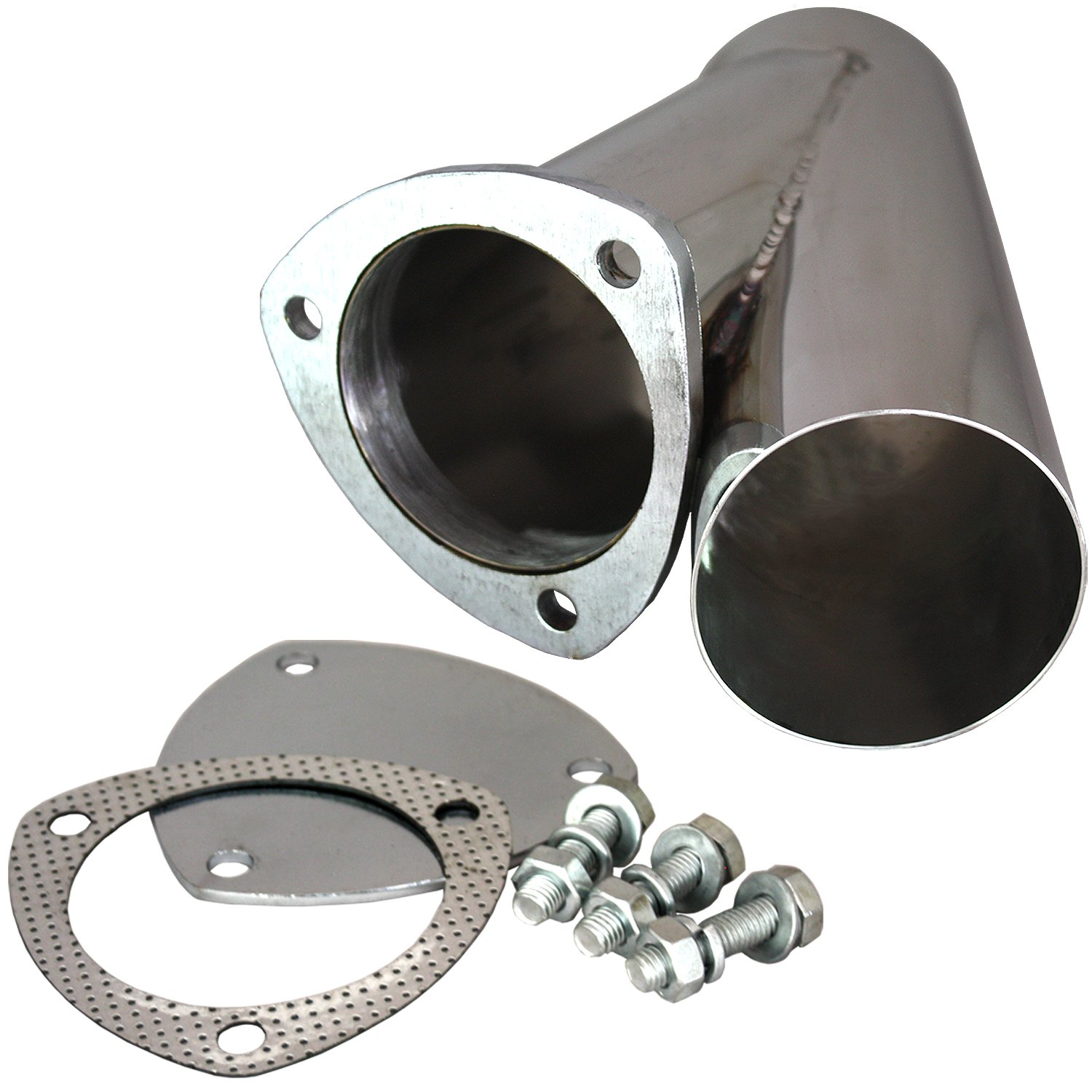 QTP 10350 3.50 In. Stainless Steel Exhaust Cutout Quick Time Performance