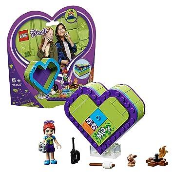 LEGO Friends - Caja Corazón de Mia, divertido set de construcción coleccionable para guardar tus cosas (41358): Amazon.es: Juguetes y juegos