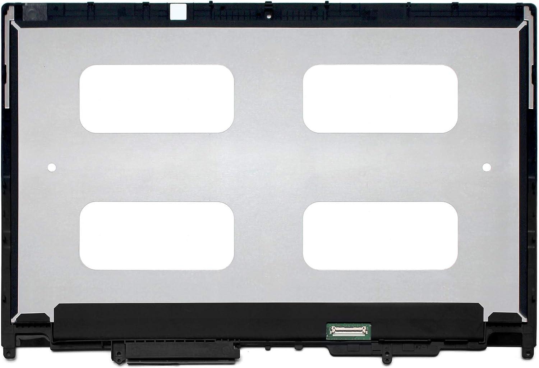 FTDLCD/® 13,3 Zoll f/ür Lenovo Thinkpad Yoga 370 20JJ 20JH FHD LED LCD Touchscreen Digitizer IPS Display Assembly mit Rahmen