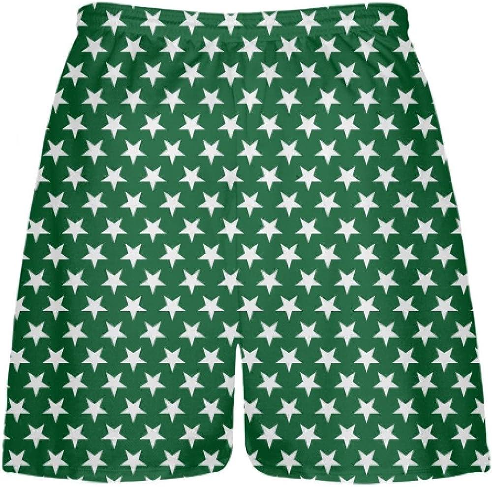 Boys Camo Shorts Adult Camo Shorts Green Youth Camo Shorts Youth Lime Green Digital Camouflage Lacrosse Shorts