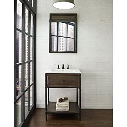 Fairmont Designs 24 Inch Toledo Open Shelf Vanity Driftwood Gray
