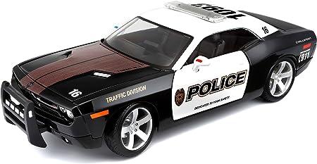 Maisto 1:18 Scale 2006 Dodge Challenger Concept Police Car