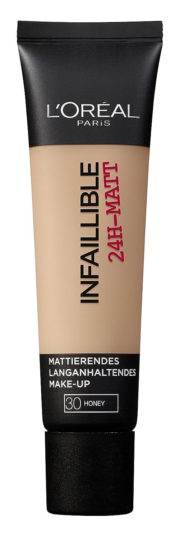 L'Oréal Paris, Fondotinta opacizzante a lunga tenuta Infaillible, 20 Sand, 1 x 35 ml L' Oréal Paris A84980